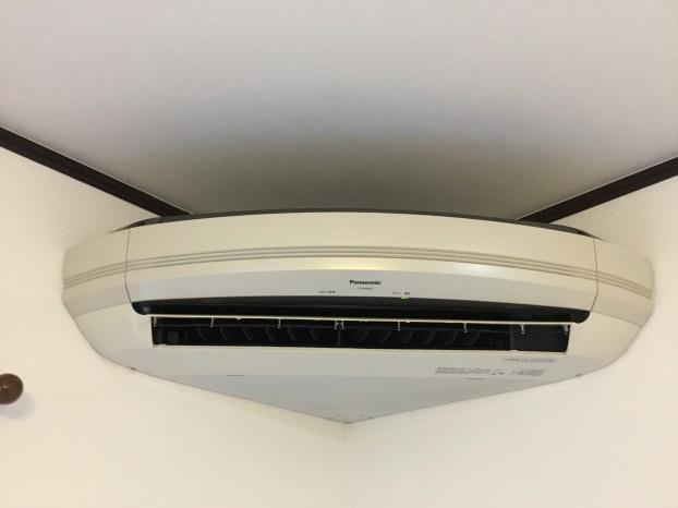 コーナーエアコン / 扇型エアコン / エアコンクリーニング