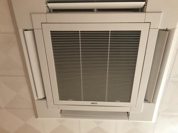 家庭用 天井埋め込み型 エアコン カビ